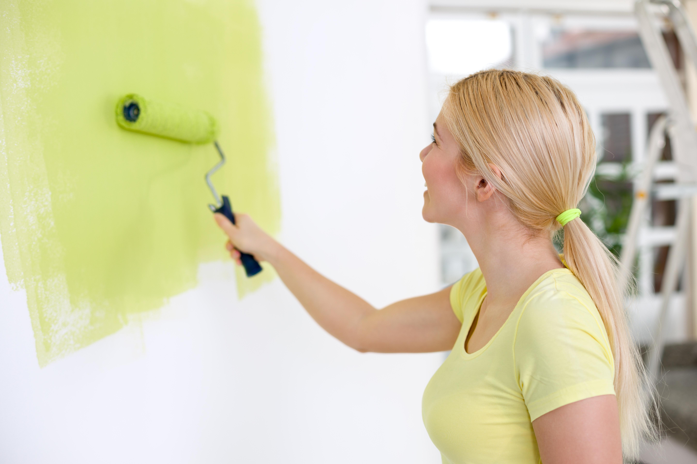 Malowanie ścian wewnętrznych wałkiem