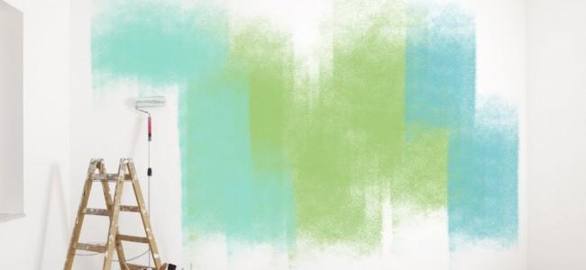 malerzubehr bunte Wand