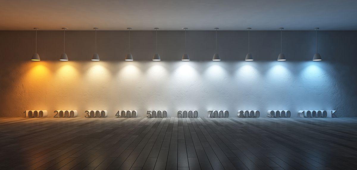 barwa światła